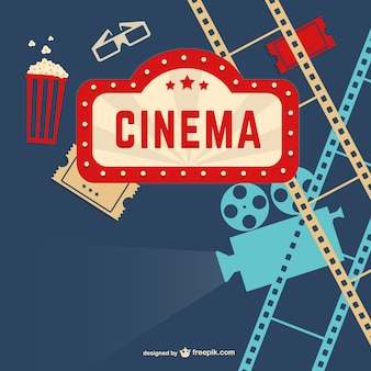 Vintage bioscoop