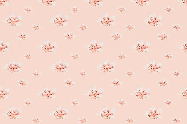 Vintage bloemmotief vector achtergrond, remix van kunstwerken van megata morikagaa