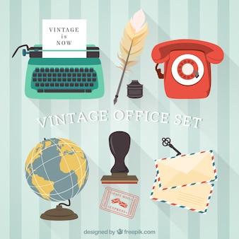 Vintage bureau set