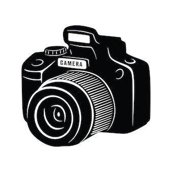 Vintage camera fotografie
