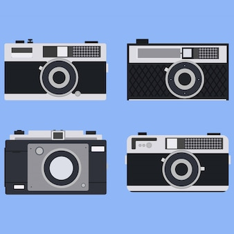 Vintage cameraset