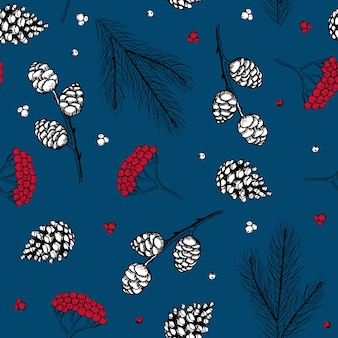 Vintage christmas vectorillustratie