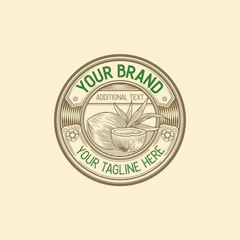 Vintage coconut product-logo