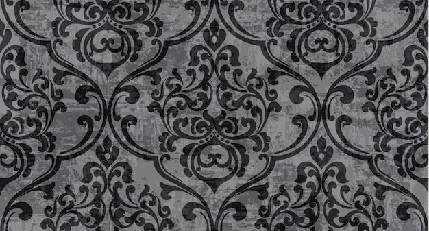 Vintage decor gesierd patroon