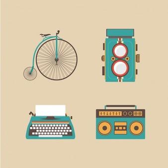 Vintage elementen ontwerp