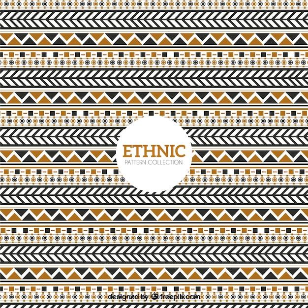 Vintage etnische patroon