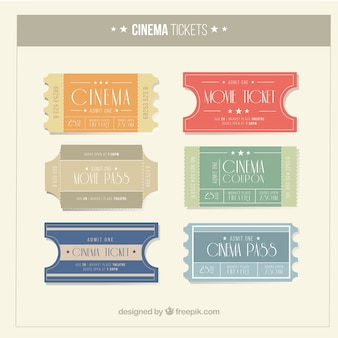 Vintage films passeren ingesteld