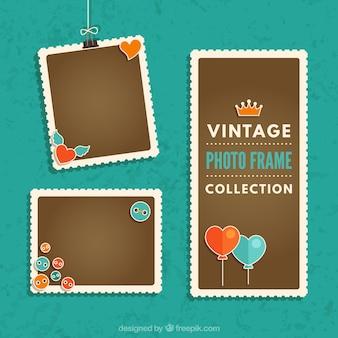 Vintage foto frames collectie