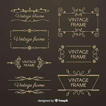 Vintage frame-collectie