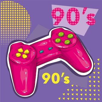 Vintage gamepad om te spelen