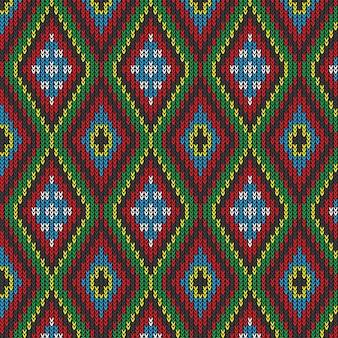Vintage gebreide patroon