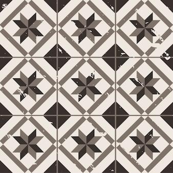 vintage geometrische achtergrond