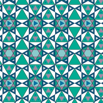 Vintage geometrische geïnspireerd patroon