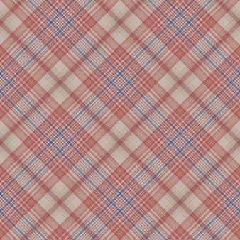 Vintage geruite stof textuur naadloze patroon
