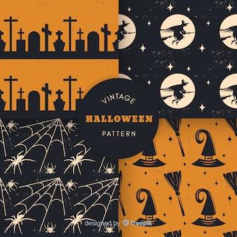 Vintage halloween patrooninzameling