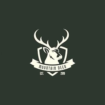 Vintage herten logo