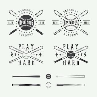 Vintage honkbal logo's
