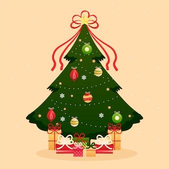 Vintage kerstboom