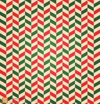 Vintage kerstmis kleurrijke naadloze patroon