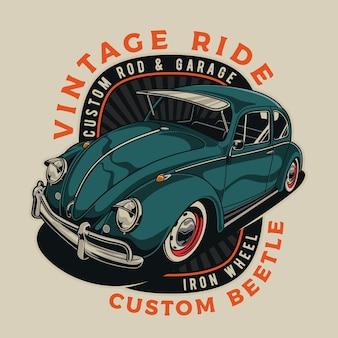 Vintage klassieke auto