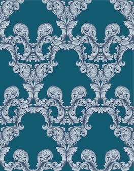 Vintage klassieke patroon achtergrond vectorillustraties