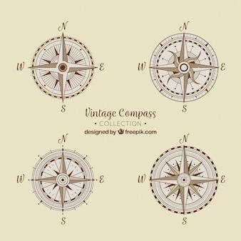 Vintage kompascollectie