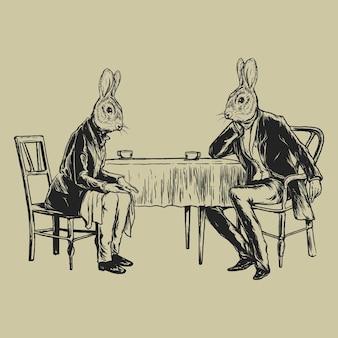 Vintage konijnen