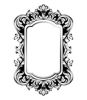 Vintage luxe spiegellijst