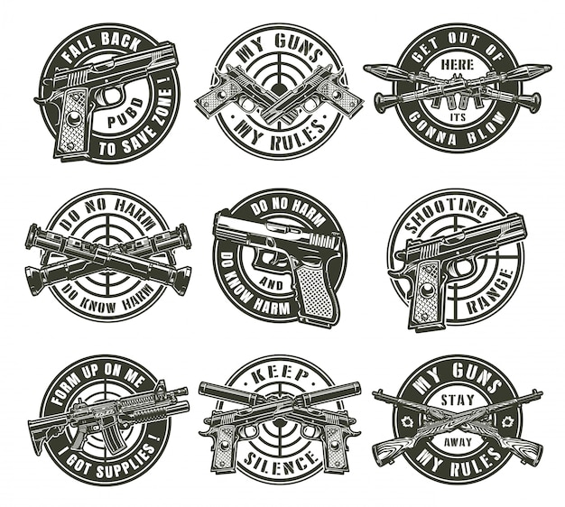 Vintage militaire labels