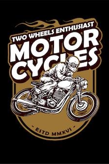 Vintage motorfiets
