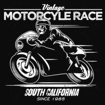 Vintage motorrace