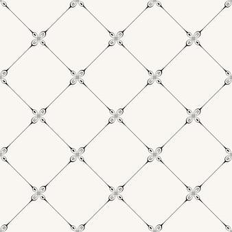 Vintage naadloos patroon voor ontwerp in victoriaanse stijl