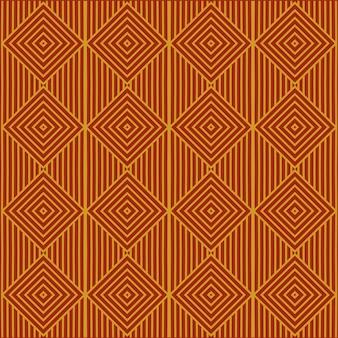 Vintage naadloze abstracte patroonstijl