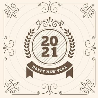 Vintage nieuwjaar 2021