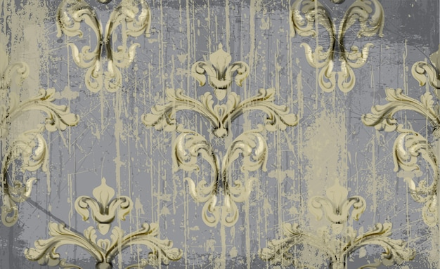 Vintage ornament patroon