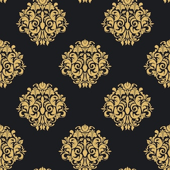 Vintage patroon naadloos. wallpaper retro achtergrond