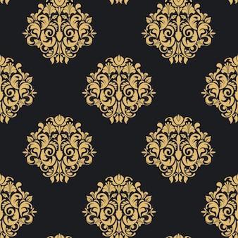 Vintage patroon naadloos. wallpaper retro achtergrond