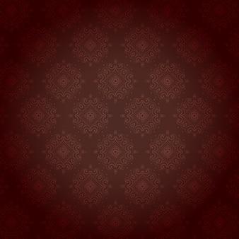 Vintage patroon vector ontwerp achtergrond