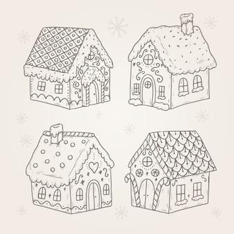 Vintage peperkoek huiscollectie