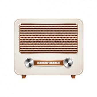 Vintage radio ontwerp