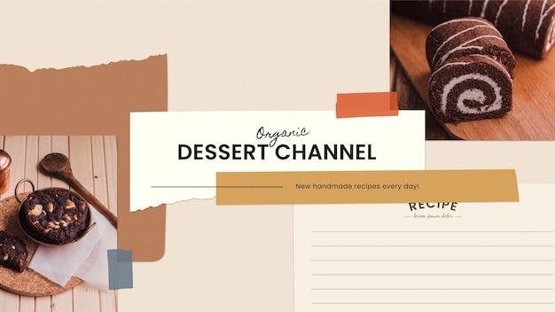 Vintage recepten youtube channel art