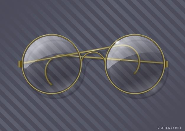 Vintage ronde bril