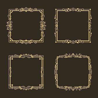 Vintage sierlijst frame