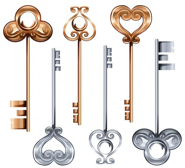 Vintage sleutels