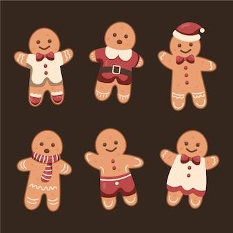 Vintage speculaaspop cookie collectie