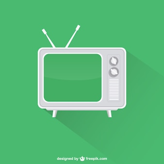 Vintage televisie