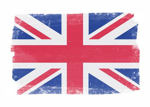 Vintage vlag van het verenigd koninkrijk