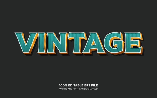 Vintage westers tekststijleffect