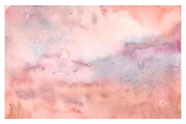 Vintage zacht roze kastanjebruin aquarel achtergrond
