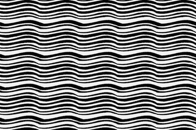 Vintage zwarte houtsnede patroon achtergrond vector, remix van kunstwerken van samuel jessurun de mesquita Gratis Vector
